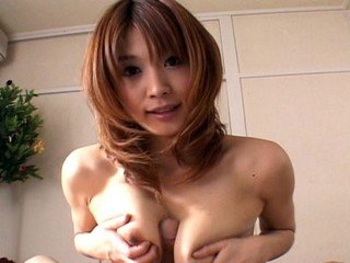 Japanese housewife Ai Kurosawa gives perfect a blowjob